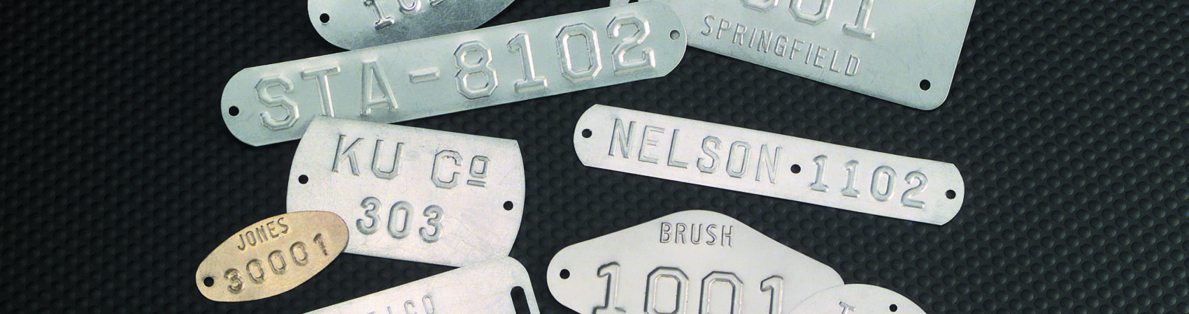 Metal Embossed Tags