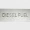 Diesel-Fuel-Metal-Tag-Aluminum