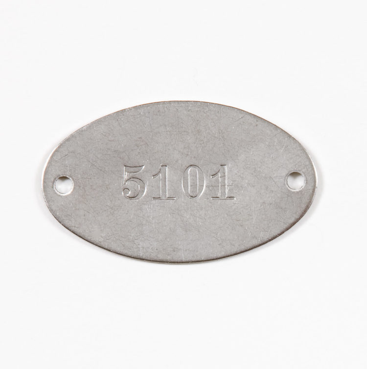 Stamped Metal Tags